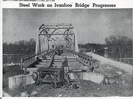 photo of Ivanhoe Bridge Construction