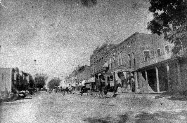 photo of Main Street @1896