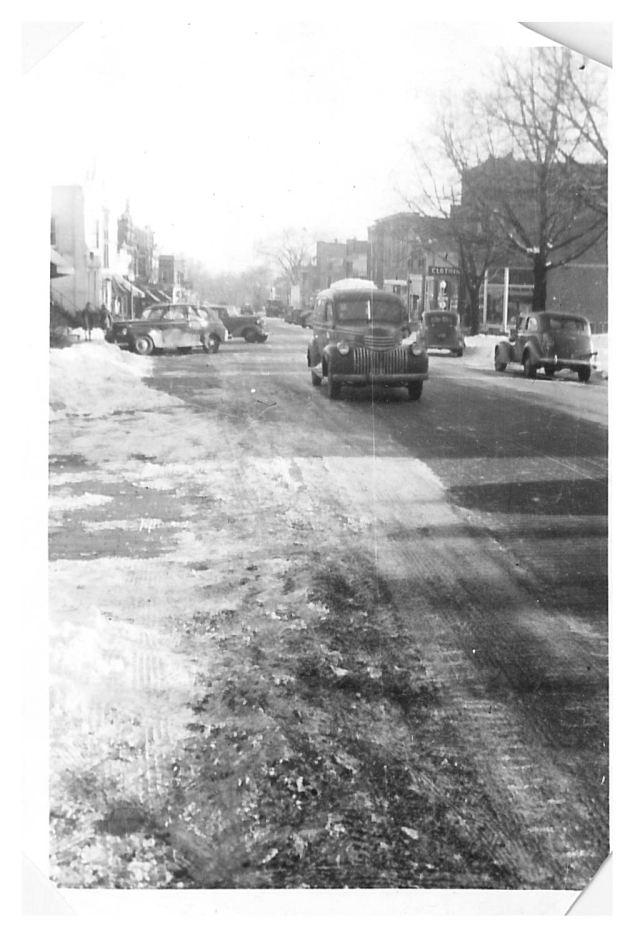 photo of Main Street in Winter