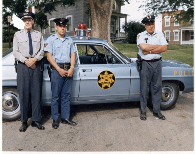 photo of Mount Vernon Policemen