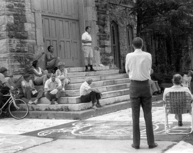 photo of Speaker on Cornell Campus