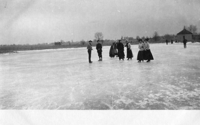 photo of Students Ice Skating