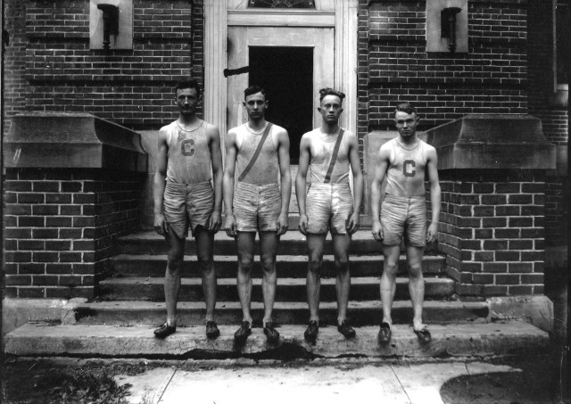 photo of Unidentified Cornell Students
