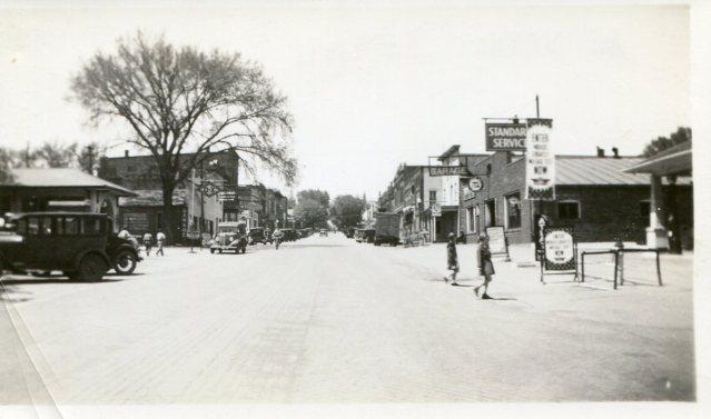 photo of Downtown Mount Vernon-1930