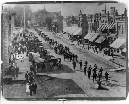 photo of Funeral Procession-1900