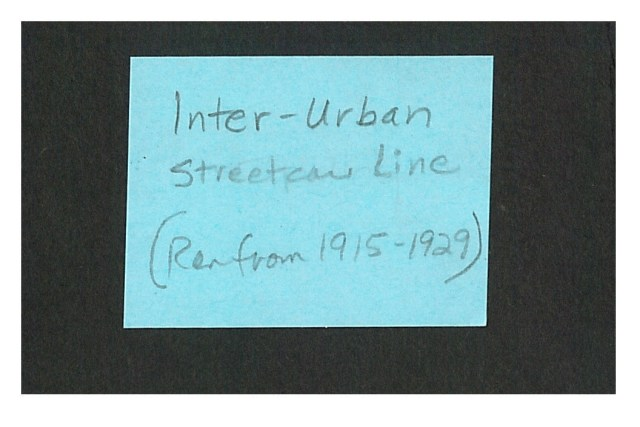 photo of Inter-Urban note