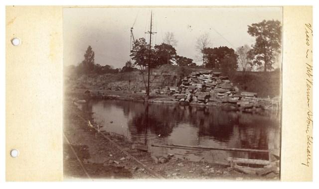 photo of Mount Vernon Stone Quarry-1915