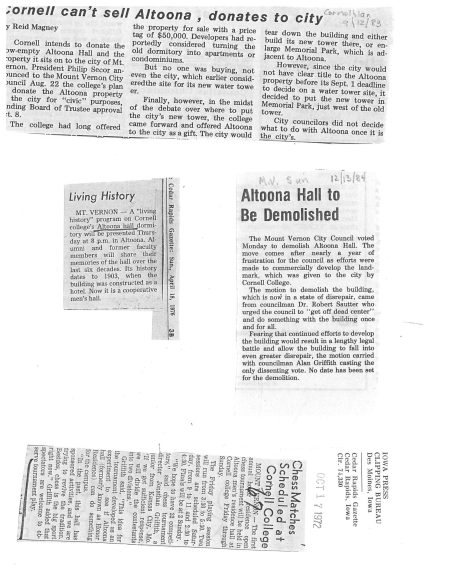 photo of Newspaper Clippings