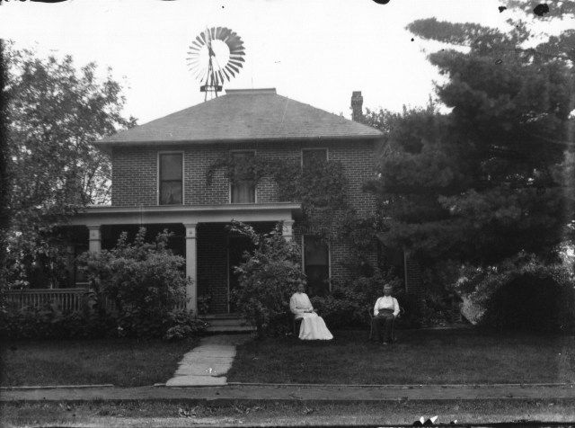 photo of Robinson house by brickyard