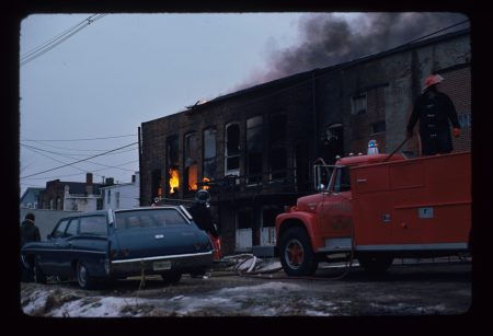 photo of Scorz Bar on Fire