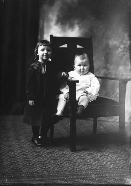 photo of Two Unidentified Children