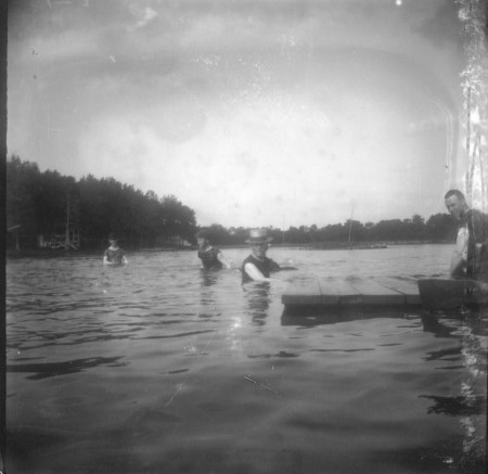 photo of Unidentified Men at a Picnic