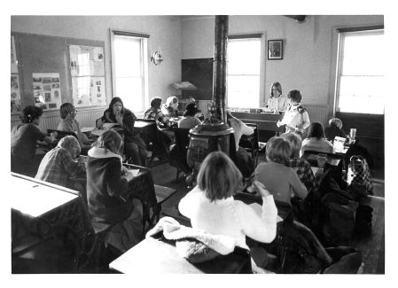 photo of Unidentified School Children in Class