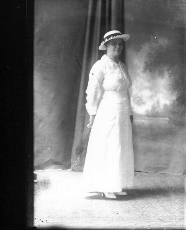 photo of Unidentified Women in White Dress