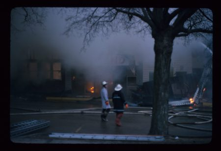 photo of Wolfe Block Fire-1975