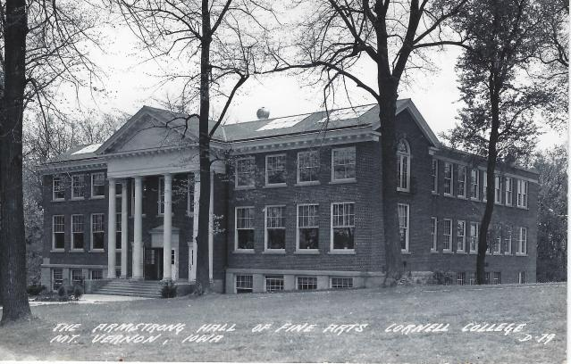 Photo of Armstrong Hall Postcard