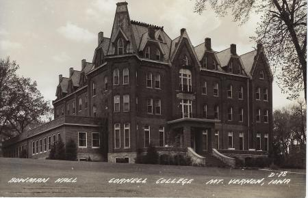 Photo of Bowman-Carter Hall Postcard