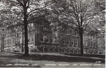 Photo of Law Hall postcard