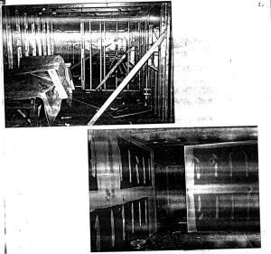 Photos of the Covington house kitchen reconstruction