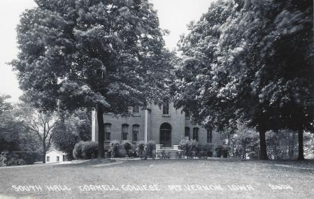 Photo of South Hall Postcard
