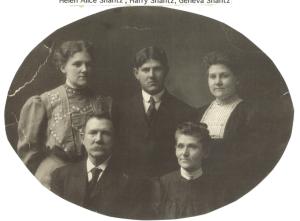 Photo of the Shantz family