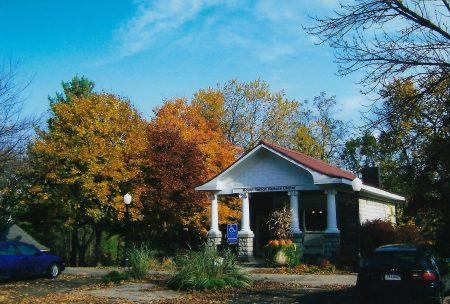 Photo of Visitor Center, Autumn-2009