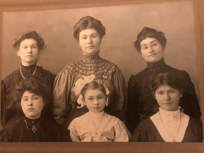Photo of the Crofter sisters