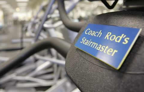 Coach Rod's Stairmaster -Freep.com