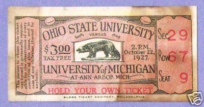 1927 Michigan Ohio State