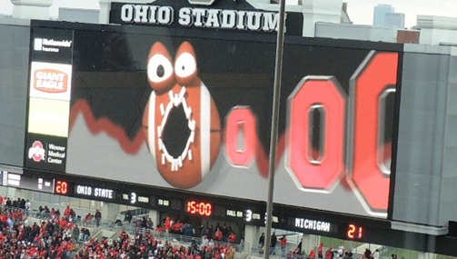 Ohio State Scoreboard