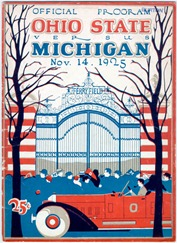 1925 Ohio State Program - U-M Bentley Historical Library
