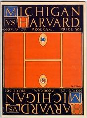 1929 Harvard Program - U-M Bentley Historical Library