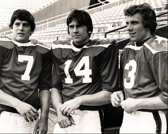 1979 Hula Bowl - Rick Leach, Chuck Fusina, Joe Montana