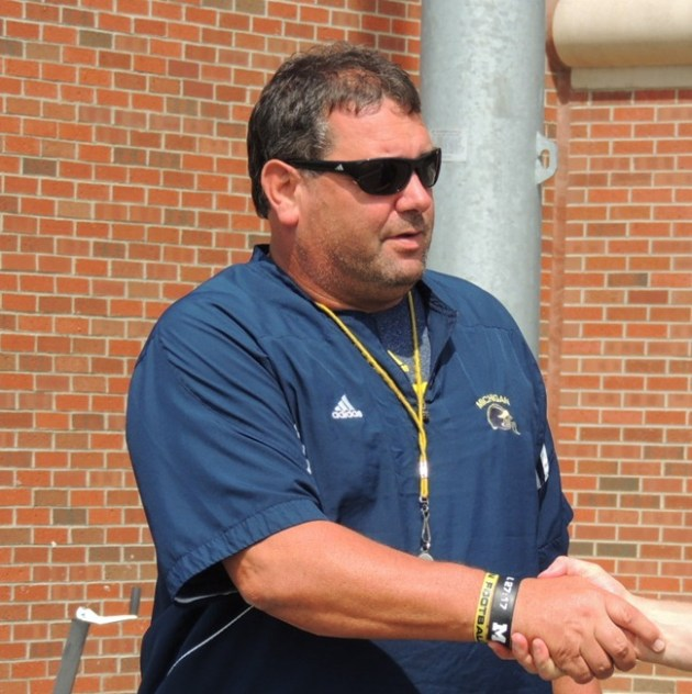 Coach Brady Hoke - 2013 Football Practice