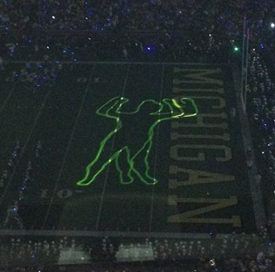 Halftime Laser show