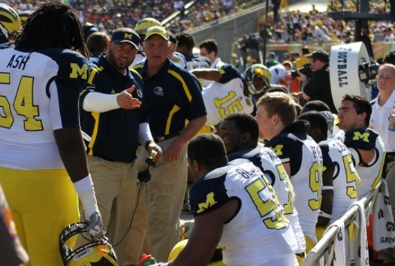 Jerry Montgomery Michigan - Outback Bowl 2013