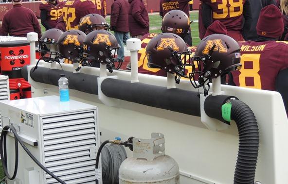 Minnesota helmet heaters/coolers/cozies