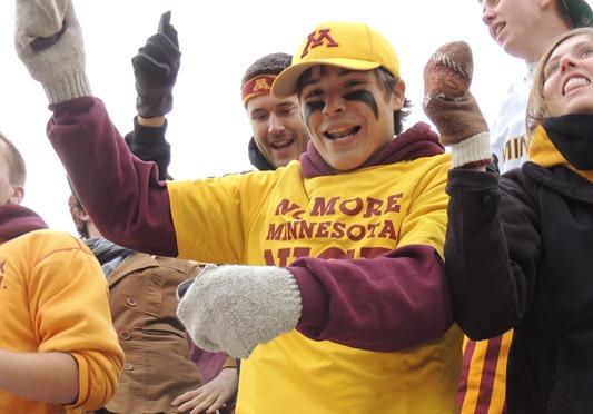 Minnesota fan goes Gangnam Style