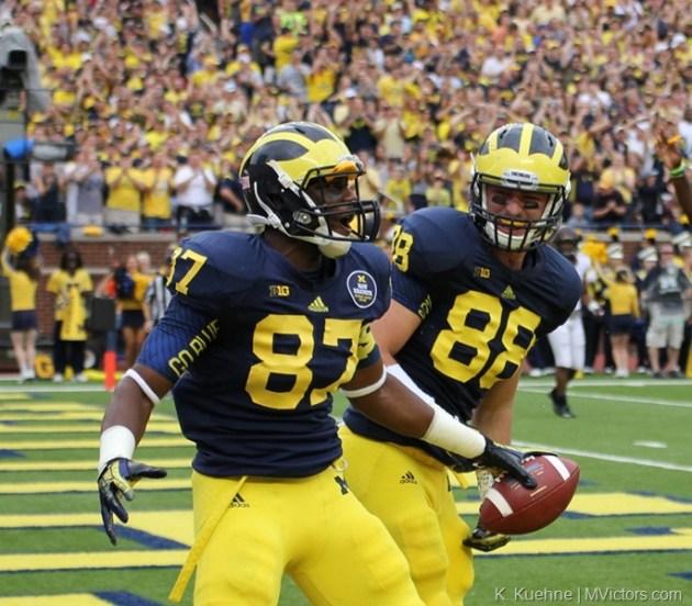 Funchess and Jake Butt