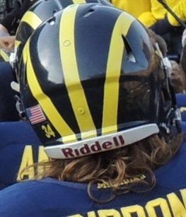 Brendan Gibbons Helmet