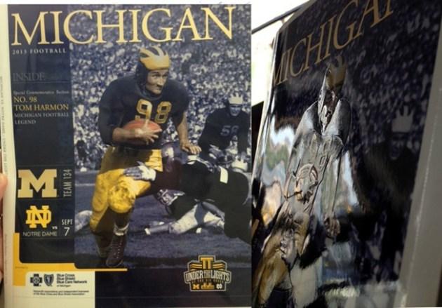Michigan-Notre Dame Program 2013