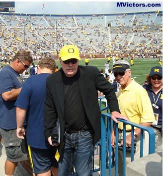 Phil Knight Michigan Stadium 2007