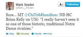 Twitter - Mark Snyder
