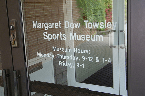 Foyer Museum Hours : Visiting hours available schembechler hall museum