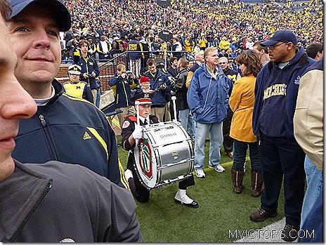 Buckeye drummer