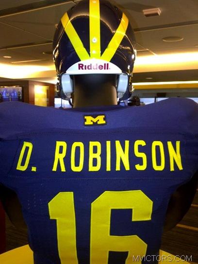2011 Michigan jersey