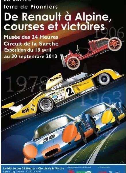 Musée Des 24 Heures Du Mans : musée, heures, Exposition, Temporaire, Renault, Alpine, Courses, Victoires, Sarthe