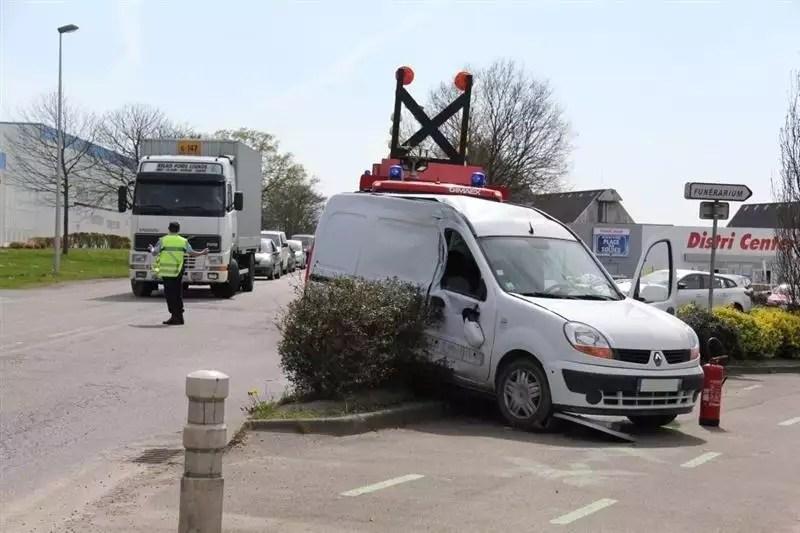 redon accident entre un camion et une