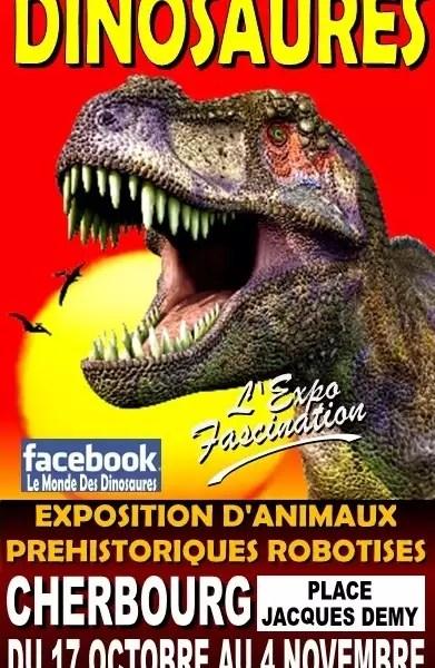 Le Monde Des Dinosaures Avis : monde, dinosaures, Exposition, Monde, Dinosaures, Internaute, Cherbourg.maville.com