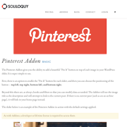 Soliloquy Add-On: Pinterest
